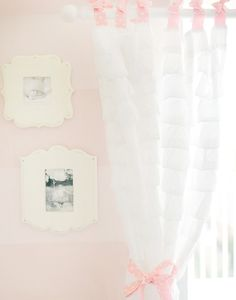#Ruffle curtains are trendy right now. Our opinion? They're great in a #nursery