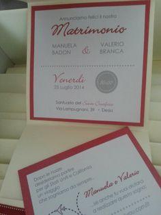 Partecipazione nozze pocket. Wedding pocket invitation Www.graceevent.net Wedding design: mariagrazia tarantino