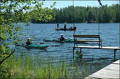 Clam Lake, Wisconsin