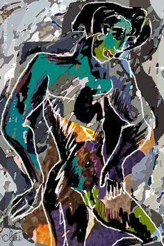 Jacqueline Ditt - Adonis - universal arts Galerie Studio - Original Grafik Druck limitiert handsigniert und nummeriert universal arts Galerie Studio edition http://www.amazon.de/dp/B00KDLYWTG/ref=cm_sw_r_pi_dp_sPD5vb1BZ2N30