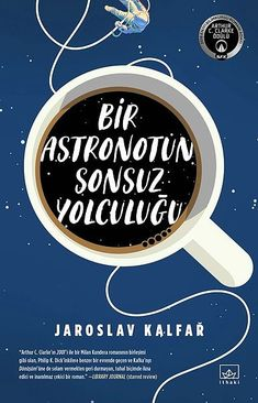 space and coffee book cover, spaceman of bohemia by jaroslav kalfar Best Book Covers, Beautiful Book Covers, Book Cover Art, Book Cover Design, Book Art, Buch Design, E Design, New Books, Good Books