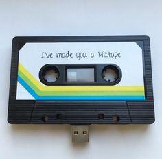 8GB USB Mixtape - Retro Personalised Gift - Ideal for a Loved One, Valentines Present- Shipping from the UK & Australia by TheWildCardShop on Etsy https://www.etsy.com/listing/217030555/8gb-usb-mixtape-retro-personalised-gift