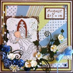 made by Annelie...: Sunburst card
