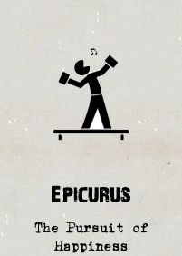 Epicureanism is unfairly characterised as synonymous with hedonism, at the expense of all else. Epicurus argued, though, that base pleasure could often lead to a deeper unhappiness. He endorsed the pursuit of happiness, and saw virtue as a means to happiness. Aristotle's Nicomachean Ethics (especially his concept of the pursuit of eudaimonia) owes a lot to Epicurus.