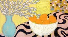 Gordon Hopkins, Oranges in a bowl