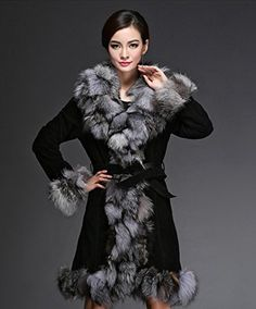 Furfox レディース 皮革 レザー フォックスファーの毛襟 毛皮 コート アウター ジャケット ブルゾン (XL) Furfox http://www.amazon.co.jp/dp/B01708HER6/ref=cm_sw_r_pi_dp_4HErwb16KDWAH
