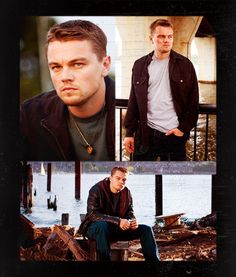 Leonardo DiCaprio - The Departed, all time favorite movie. Best Leo has ever looked.