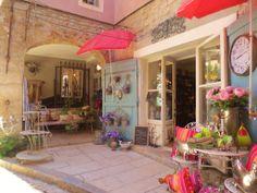 Summer Colours at Marguerite's deco shop, Cotignac