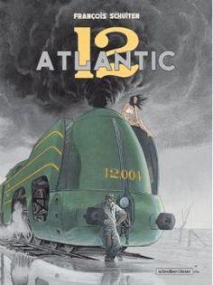 Retro-Eisenbahn nicht nur als Comic, sondern auch in 3D am Computer