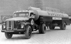A SCANIA-VABIS foi grande defensora da utilização de caminhões pesados no transporte brasileiro de cargas.