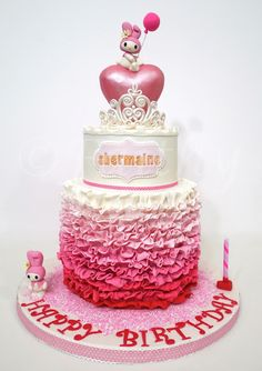 faithy bakes: My Melody Birthday Theme