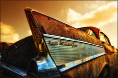 '57 Chevy Ridden into the Sunset