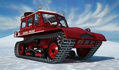 Snow-Trac ST4 by ~unigami on deviantART - SketchUp and Kerkythea