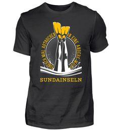 TAUCHSHIRT TAUCHEN SUNDAINSELN T-Shirt Utila, Ushuaia, Vanuatu, Waimea Bay, Perth, Monterey Bay, Komodo, Sunshine Coast, La Jolla Shores