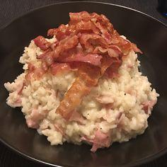 Risotto al bacon