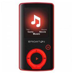 """Riproduttore MP3 BRIGMTON BPA-81-R 1.8"""" 8 GB Rosso BRIGMTON 35,11 € Se sei un appassionato d'informatica ed elettronica, ti piace stare al passo con la più recente tecnologia senza lasciarti sfuggire nessun dettaglio, acquista Riproduttore MP3 BRIGMTON BPA-81-R 1.8"""" 8 GB Rossoal miglior prezzo."""