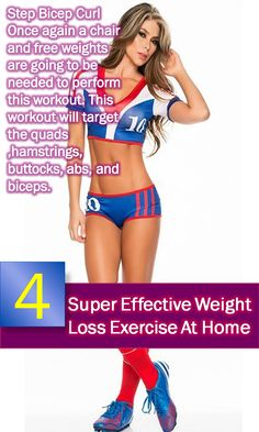 Exercise is very much crucial part if you want fast result, Discover 4  Super Effective Weight Loss Exercise At Home. keep reading.