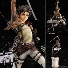 Attack on Titan - Eren Yeager 1/8 Complete Figure by Good Smile Company