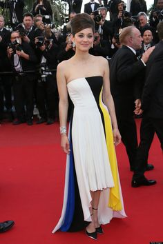Marion Cotillard in Dior. Cannes Film Festival.