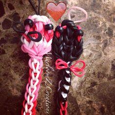 Mr. and Mrs. ValentinesSs - Rainbow Loom - Tutorial on YouTube