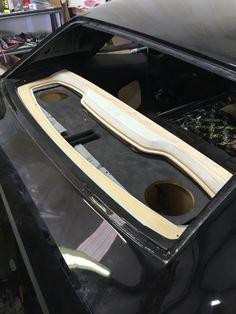 # project black jack . 1968 Camaro custom pro touring style interior. Innovative Rides / Smithy Customs Custom package tray