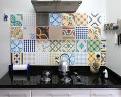 kleurrijke-patroon-tegels-keuken
