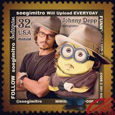 Johnny Depp Minion.