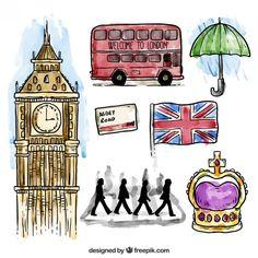 Colección de elementos de Londres None