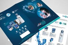 Today I managed to bring forth a fantastic list of new beautiful corporate brochure design ideas/examples to inspire you. Leaflet Design, Booklet Design, Ro Water Purifier, Water Branding, Corporate Brochure Design, Water Filter, Brochures, Flyers, Beautiful