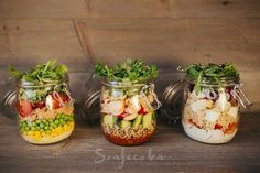 Salty Foods, Salad In A Jar, Second Breakfast, Slow Food, Veggie Dishes, Cooking Tips, Catering, Food And Drink, Veggies