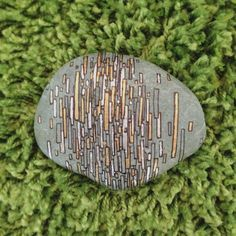 Art Rock  Stripes by JessBruels on Etsy, $15.00