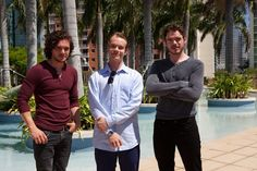 "John Snow, Theon, and Robb Stark. So sexy | ""Game Of Thrones"" Actors Doing Normal Stuff Is So Weird"