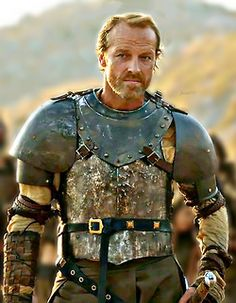 "favor757:  …and the wonderful Iain Glen."" - Michelle Fairley""Another handsome man."" - Nikolaj Coster-Waldau""Oh, you're all handsome."" - Mich..."