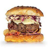 Kickin Beef Burger