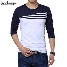 Hot Sale 2017 New Fashion Brand O-Neck Trend Long Sleeve T Shirts Men Slim Fit Cotton High-quality Casual Men T-Shirt 4XL 5XL //Price: $20.66 & FREE Shipping //     #newin    #love #TagsForLikes #TagsForLikesApp #TFLers #tweegram #photooftheday #20likes #amazing #smile #follow4follow #like4like #look #instalike #igers #picoftheday #food #instadaily #instafollow #followme #girl #iphoneonly #instagood #bestoftheday #instacool #instago #all_shots #follow #webstagram #colorful #style #swag…