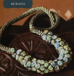 Under the Sea Kumihimo Necklace as featured in Bead Trends August 2011