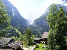 Lauterbrunnental Jungfrau (faint) by Lisbeths trips, via Flickr.  Inspiration for Rivendell
