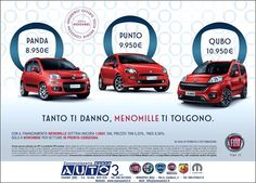 TANTO TI DANNO. MENOMILLE DI TOLGONO.  http://www.nuovaauto3-fcagroup.it/fiat/gamma  Contattaci per ulteriori informazioni.