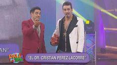 El humorista interpretó al reconocido cirujano Cristian Pérez Latorre. Mirá su divertida interpretación acá: