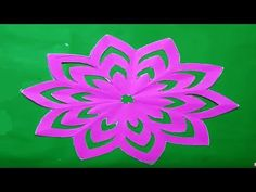 How to make easy paper cutting flowerssimple paper cutting design how to make simple easy paper cutting flower designs paper flowerdiy instructions step by step youtube mightylinksfo