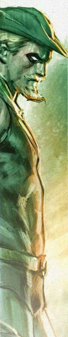 Green Arrow by Mauro Cascioli