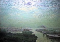 Adrien-Joseph Heymans (1839-1921), Clair de Lune.