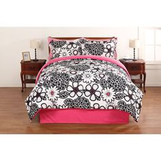 your zone floral Reversible Bed in a bag