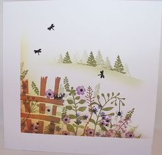 Woodland Walks, Veranda View and Pottery Petites - My WordPress Website Card Making Inspiration, Making Ideas, Cardio Cards, Homemade Christmas Cards, Bird Cards, Card Io, Card Patterns, Cards For Friends, Flower Cards