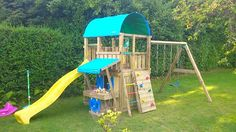 Jungle Gym around the world 🌍  Have fun with this Farm Mini Market & 1-Swing X'tra!
