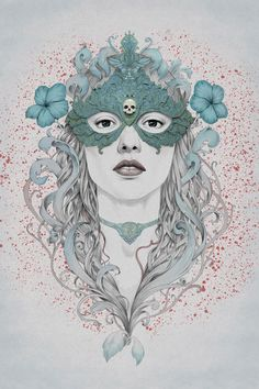 Light, delicate and beautifully rendered portrait illustrations by Buenos Aires, Argentina based illustrator Diego Fernandez. Specializing i...
