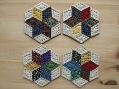 quilted | Coasters Quilted Mug Mats Fabric Coasters Cloth Coasters Rustic ...