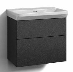 Alaosa Forma 60x35 + pesuallas 2 laatikkoa musta tammi - Taloon.com