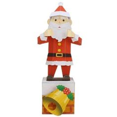 Dancing Santa Claus,Toys,Paper Craft,Christmas,play,mechanical toy,dance,Moving toy,Santa Claus