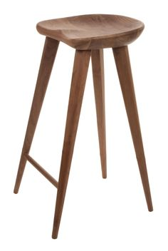 Veerle bar stools in American Walnut. Love these for my kitchen island.  little pricey though